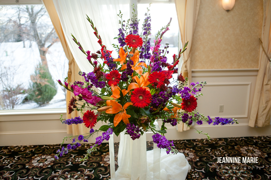 Bright and Sunny centerpiece - Richfield Flowers and Events